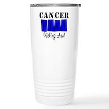 Cancer Diva (Blue) Thermos Mug