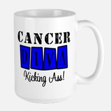 Cancer Diva (Blue) Coffee Mug
