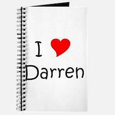 Funny Darren Journal
