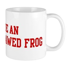 Rescue African Clawed Frog Mug