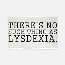 Lysdexia Rectangle Magnet