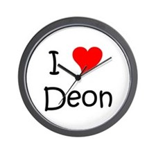 Funny Deon Wall Clock