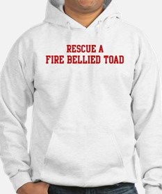 Rescue Fire Bellied Toad Hoodie