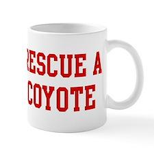 Rescue Coyote Small Mugs