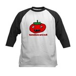 NO tomato Kids Baseball Jersey
