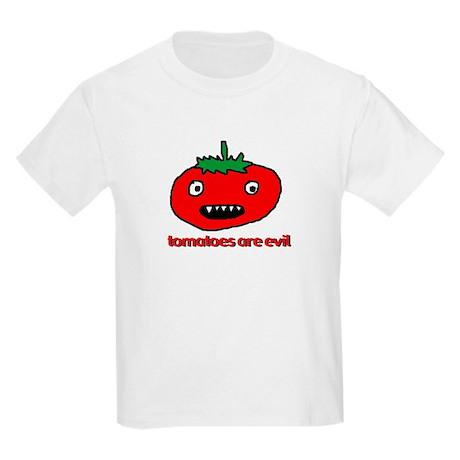 Evil Tomato Kids T-Shirt