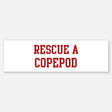 Rescue Copepod Bumper Bumper Bumper Sticker