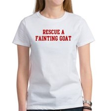 Rescue Fainting Goat Tee