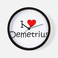 Funny Demetrius Wall Clock