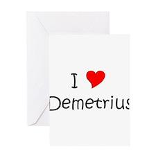 Demetrius Greeting Card