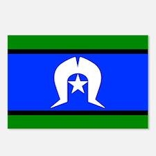 Torres Strait Islander Flag Postcards (8 Pack)