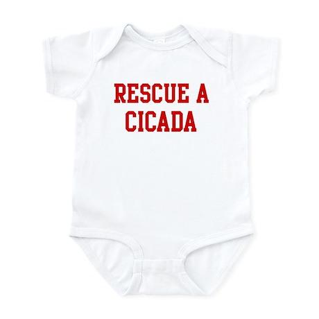 Rescue Cicada Infant Bodysuit
