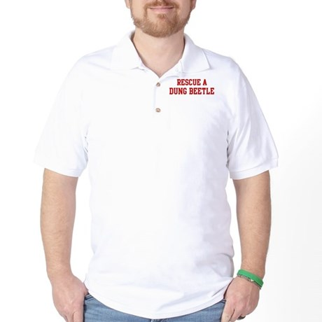 Rescue Dung Beetle Golf Shirt