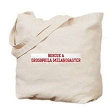 Rescue Drosophila Melanogaste Tote Bag
