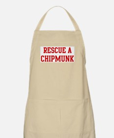 Rescue Chipmunk BBQ Apron