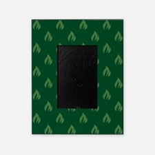 FLAMES - GREEN Picture Frame
