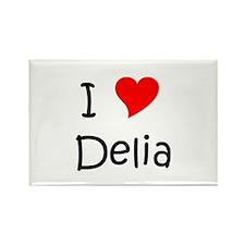 Cute Delia Rectangle Magnet