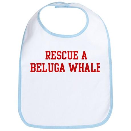 Rescue Beluga Whale Bib