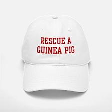 Rescue Guinea Pig Baseball Baseball Cap