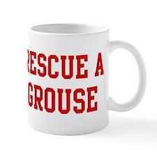 Rescue Grouse Mug