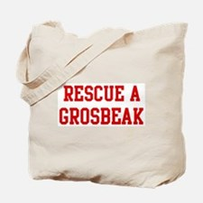Rescue Grosbeak Tote Bag