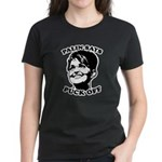 Palin says Puck Off Women's Dark T-Shirt