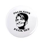Palin says Puck Off 3.5