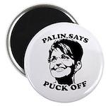 Palin says Puck Off 2.25