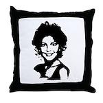 Sarah Palin Retro Throw Pillow