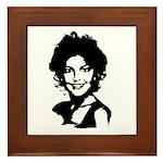 Sarah Palin Retro Framed Tile