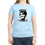 Pray for Palin Women's Light T-Shirt
