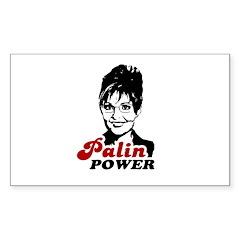 Palin Power Rectangle Decal