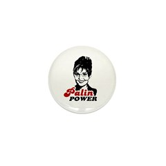 Palin Power Mini Button (100 pack)