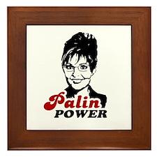 Palin Power Framed Tile