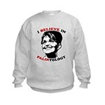 PALINtology Kids Sweatshirt