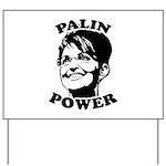 Palin Power Yard Sign