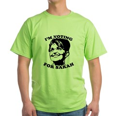 I'm voting for Sarah Palin T-Shirt