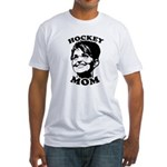SARAH PALIN: Hockey Mom Fitted T-Shirt