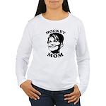 SARAH PALIN: Hockey Mom Women's Long Sleeve T-Shir