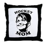 SARAH PALIN: Hockey Mom Throw Pillow