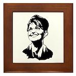 Sarah Palin Framed Tile