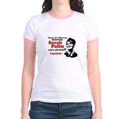 Difference between Palin and a Pit bull? Jr. Ringe
