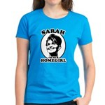 Sarah Palin is my homegirl Women's Dark T-Shirt