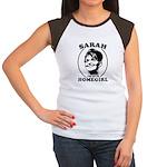Sarah Palin is my homegirl Women's Cap Sleeve T-Sh