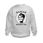 Sarah Palin is my homegirl Kids Sweatshirt