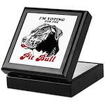 I'm voting for the Pit Bull Keepsake Box