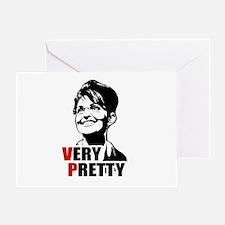 Palin for V.P. - Very Pretty Greeting Card