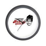 I'm voting for the Beauty Queen Wall Clock