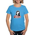 Jesus was a community organizer Women's Dark T-Shi