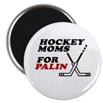 Hockey Moms for Palin Magnet